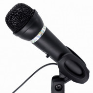 Mikrofon za računar, Gembird MIC-D-04, kondenzatorski mikrofon sa stalkom 3,5mm