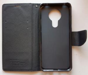 """Preklopna futrola MERCURY za Nokia 5.3 2020 (6.55"""") Crna"""