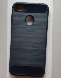 "TPU BRUSHED maska za Huawei P9 Lite Mini, Y6 Pro 2017 (5.0"") teget plavo siva"