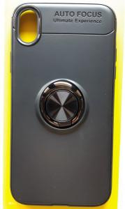 """TPU Magnet RING maska za IPhone XR 2018 (6.1"""") crna"""