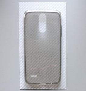 TPU maska 0,3mm LG K4 2017, ultra tanka, dim providna