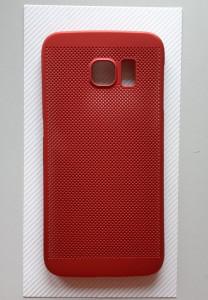 TPU maska BREATH za Samsung Galaxy S6 Edge 2015, SM-G925F, crvena
