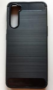 """TPU maska BRUSHED za OnePlus Nord 2020 (6.44"""") crna"""