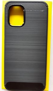 """TPU maska BRUSHED za Xiaomi Mi Note 10 Lite 2020 (6.47"""") crna"""