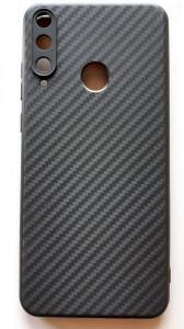 "TPU maska CARBON tanka 0.3mm za Huawei Y6p 2020 (6.3"") crna"