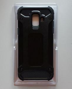 TPU maska DEFENDER za Samsung Galaxy A6 2018, SM-A600F, crna