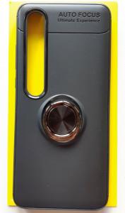 """TPU maska MAGNET RING za Xiaomi Mi 10 2020, Mi 10 Pro 2020 (6.67"""") CRNA"""
