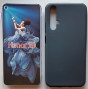 """TPU maska PUDDING za Huawei Huawei Nova 5T, Honor 20 2019 (6.26""""), crna ili bela"""