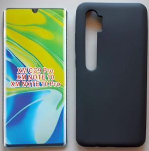 "TPU maska PUDDING za Mi Note 10 Pro 2019 , Mi Note 10, Mi CC9 Pro (6.47"") crna"