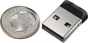 USB Flash 2.0 SanDisk Cruzer Fit SDCZ33-032G, 32Gb