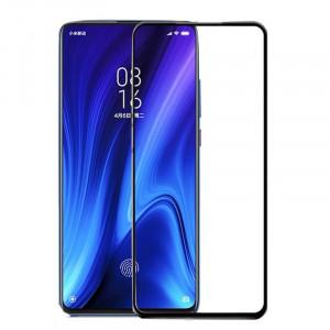"""Zaštitno, kaljeno staklo 5D Full Glue za Xiaomi Mi 9T 2019, Redmi K20, Redmi 9T pro (6.39"""") crni rub"""