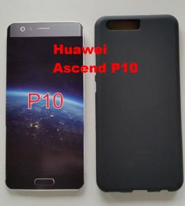 Silikonska maska leđa Huawei Ascend P10 crna