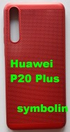 TPU/PC BREATH maska za Huawei P20 Plus, P20 Pro crvena