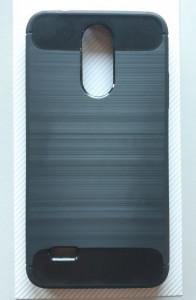 TPU maska BRUSHED LG K4 2017, ultra tanka, dim providna