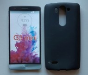 """TPU Pudding maska za LG G3 S, LG G3 mini (5.0"""") 2014, crna"""