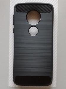 """TPU maska BRUSHED za Motorola Moto E5, Moto G6 Play 2018 (5.7""""), providna"""