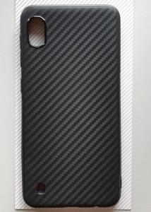 "TPU 0.3mm CARBON za Samsung Galaxy A10 2019 (6.2"") crna"