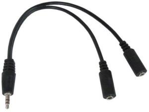 Audio adapter RJA 3.5mm muški na 2 x RJA 3.5mm stereo 10cm audio splitter kabl CCA-415 Gembird
