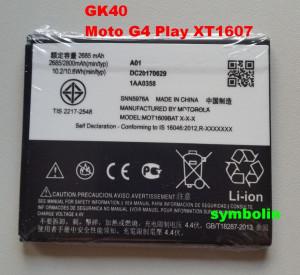 Baterija GK40, HC40, SNN5967A za Motorola MOTO G4 Play XT1607, Moto G5, Moto E3, Moto E4