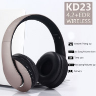 Bluetooth slušalice Over-Ear VIP KD-23 (Zlatne)