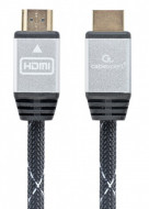 "HDMI kabl, High speed,ethernet support 3D/4K TV ""Select Plus Series"" CCB-HDMIL-1M Gembird1 1m"
