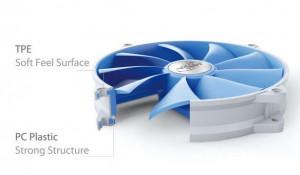 Hladnjak kućista 120x120x26mm, DeepCool UF140,