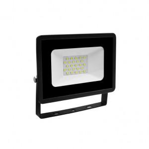 LED reflektor 20W Prosto LRF013EW-20/BK 6000K hladno bela