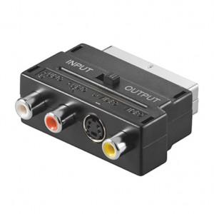 SCART adapter sa prekidačem V50S