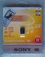 SONY MS micro M2 - 8GB -