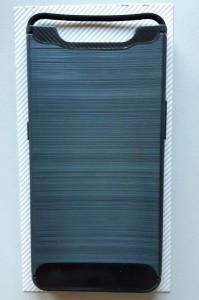 """TPU BRUSHED maska za Samsung Galaxy SM-A905F Galaxy A90 2019 (6.7"""") crna"""