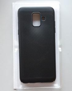 TPU maska BREATH za Samsung Galaxy A6 2018, SM-A600F, crna