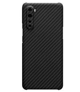 """TPU maska CARBON 0.3mm ultra tanka za OnePlus Nord 2020 (6.44"""") crna"""
