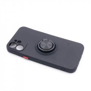 "TPU maska MATTE RING za iPhone 12 Mini 2020 (5.4"") crna"