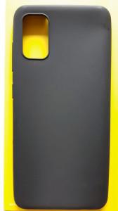 """TPU maska PUDDING za Samsung SM-A415F, Galaxy A41 2020 (6.7"""") crna"""