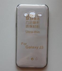TPU maska za SM-J320F Galaxy J3 2016, dim providna, ultra tanka 0,3mm