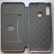 "TPU preklopna futrola LEATHER za Moto E6 Plus 2019 (6.1"") crna"