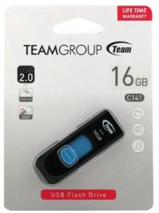 USB 2.0 Flash 16GB TeamGroup C141 TC14116GL01, BLUE