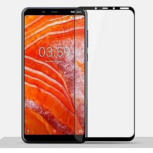 "Zaštitno, kaljeno staklo 5D Full Glue za Nokia 3.1 Plus 2018, Nokia X3 (6.0"") crni rubovi"