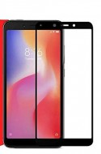 """Zaštitno, kaljeno staklo 5D Full Glue za Xiaomi Redmi 6, Redmi 6A 2018 (5.45"""") crni rub"""