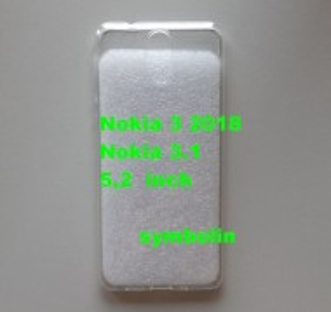 TPU maska ultra tanka 0,3mm za Nokia 3.1, Nokia 3 2018, providna