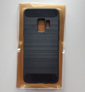 TPU maska BRUSHED za SM-G960F GALAXY S9 BLACK