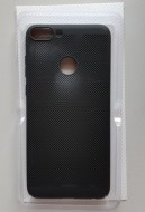 TPU/PC BREATH maska za Huawei P smart, Enjoy 7S, CRNA