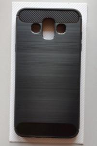 """TPU BRUSHED maska za SM-J720F, Galaxy J7 Duo (5.5"""") 2018, crna"""