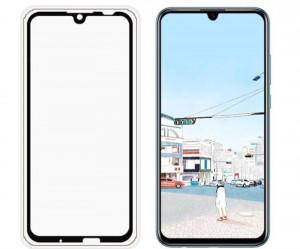 Zaštitno staklo za Huawei Honor 10 Lite, P smart 2019 Glass 5D FULL GLUE, ZAKRIVLJENO crni rubovi