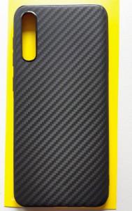 """TPU maska CARBON 0.3mm ultra tanka za Samsung Galaxy SM-A307F A30S 2019, SM-A507F A50S 2019, A50 2019 (6.4"""") crna"""