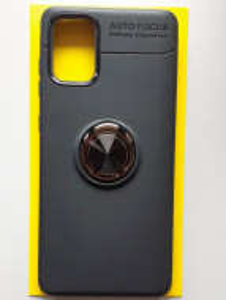 "TPU Magnet RING maska za Samsung SM-A715F Galaxy A71 2020 (6.7"") crna"