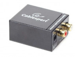 Audio analogno digitalni optički konverter SPDIF-D/A, Gembird DSC-OPT-RCA-001