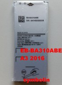 Baterija EB-BA310ABE za GALAXY A3 2016 SM-A310F, Galaxy A3 2016 Duos