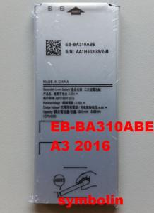Baterija EB-BA310ABE za GALAXY A3 2016 SM-A310F