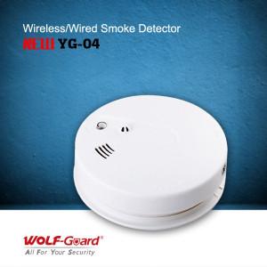 Bežični senzor temperature i dima Wolf Guard YG-04